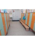 Шкафы для детского сада для вещей, инвентаря, в раздевалку, купить у производителя