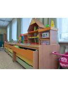 Детские многоярусные кровати для детского сада, выкатные кровати и надстройки на кровать